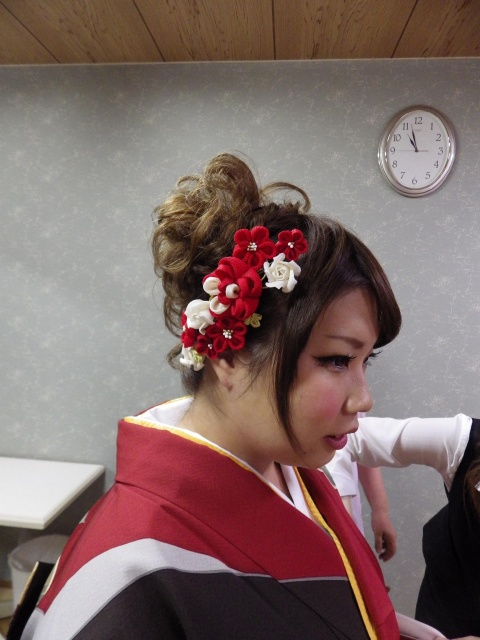 愛媛県松山市成人式ヘアーメイク ロハスヘアー