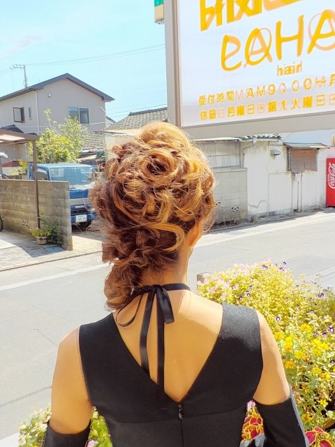 愛媛県 松山市 美容室 ヘアメイク着付け ロハスヘアー