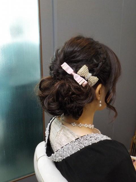 愛媛県松山市 美容室 ヘアメイク 着付け 結婚式およばれヘア ロハスヘアー