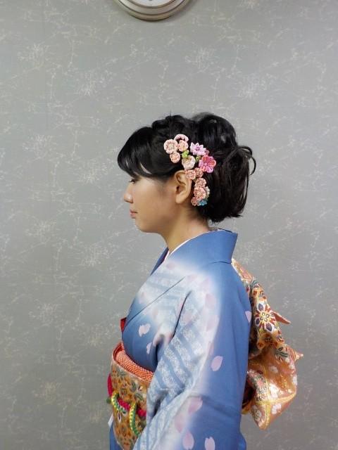 愛媛県松山市 美容室 成人式 ヘアメイク 着付け ロハスヘアーのお店日記