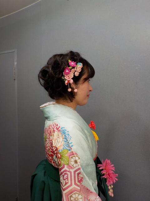 愛媛県松山市 卒業式レンタル着付け ヘアメイク ロハスヘアー