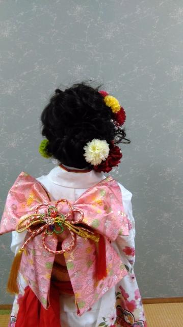 愛媛県 松山市 美容室 七五三 ヘアメイク 出張ヘアメイク着付け ロハスヘアーのお店日記