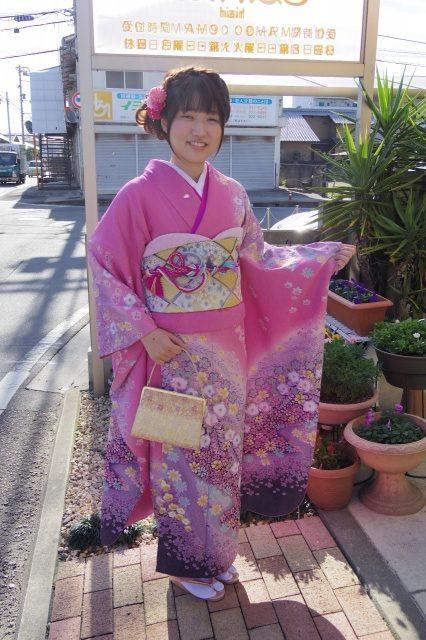 愛媛県松山市 ヘアメイク 着付け 成人式 美容室 ロハスヘアー 媛さんぽ