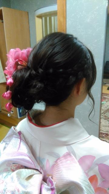 愛媛県松山市 ヘアメイク 着付け 成人式 美容室 ロハスヘアー
