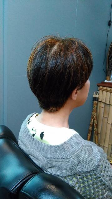 愛媛県松山市 美容室 LOHASヘアー ハナヘナ ばっさりカット ショートヘアー イメチェン