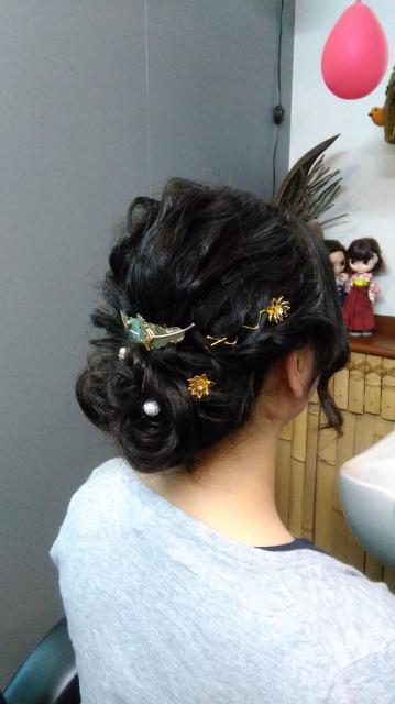 愛媛県 松山市 美容室 ヘアメイク 結婚式お呼ばれヘアメイク LOHASヘアーのお店日記
